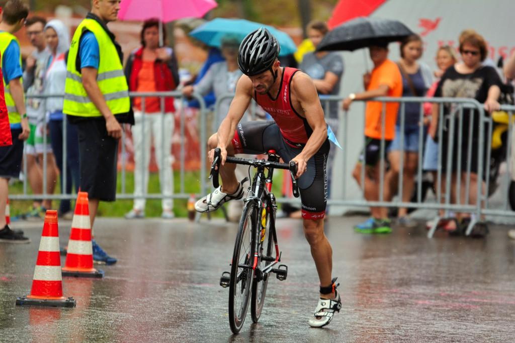 Radaufstieg im Triathlon