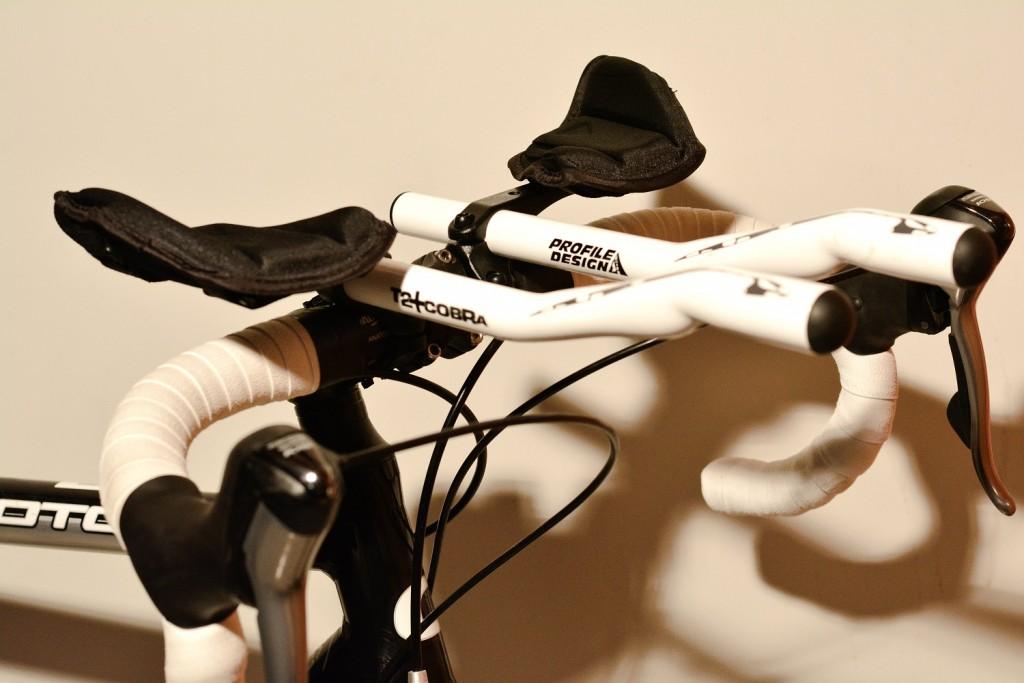 Aerodynamisch, Triathlon Extensions des Aufliegers