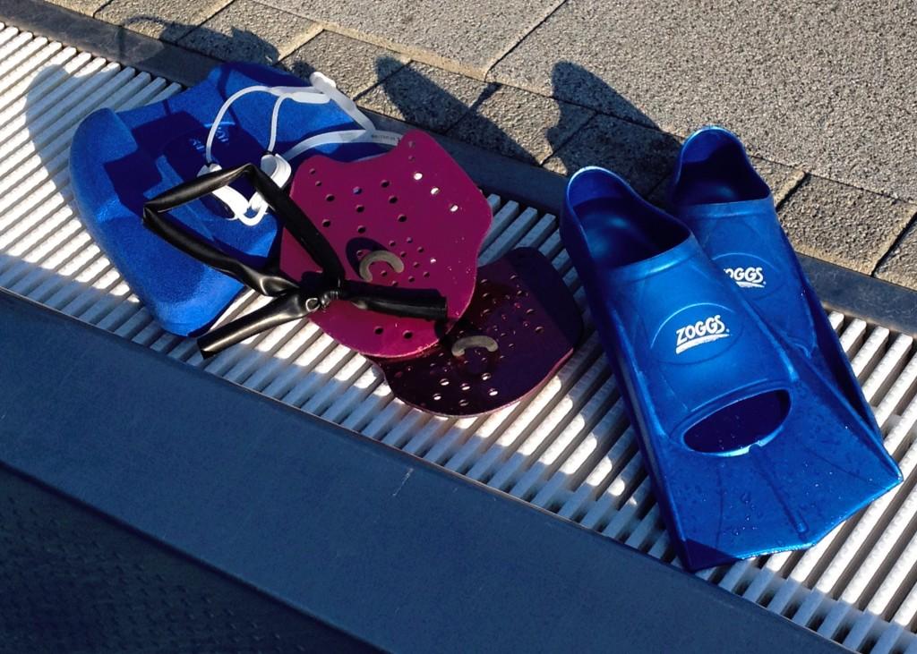 Trainingsequipment fürs Schwimmtraining