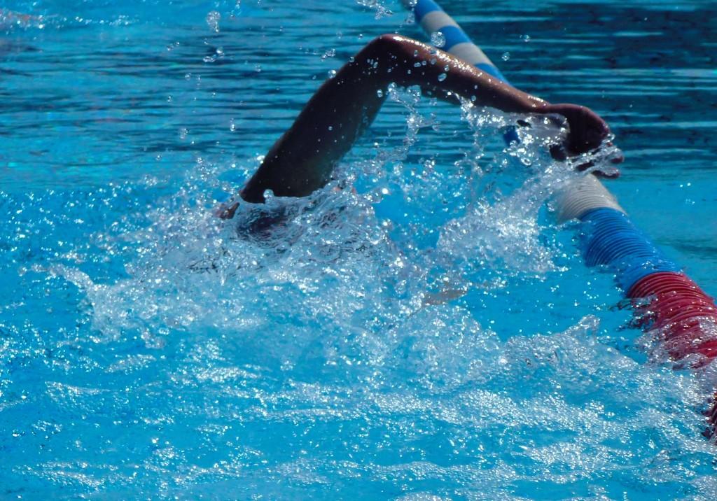 Kraulschwimmen intensiv