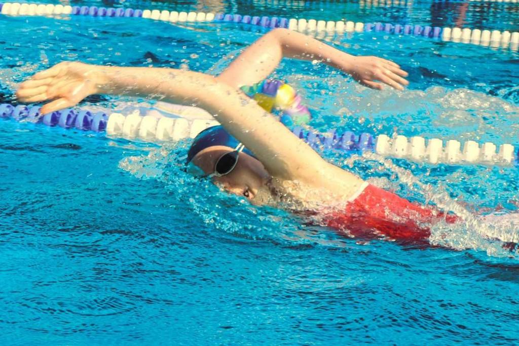 Wettkampf Schwimmtraining