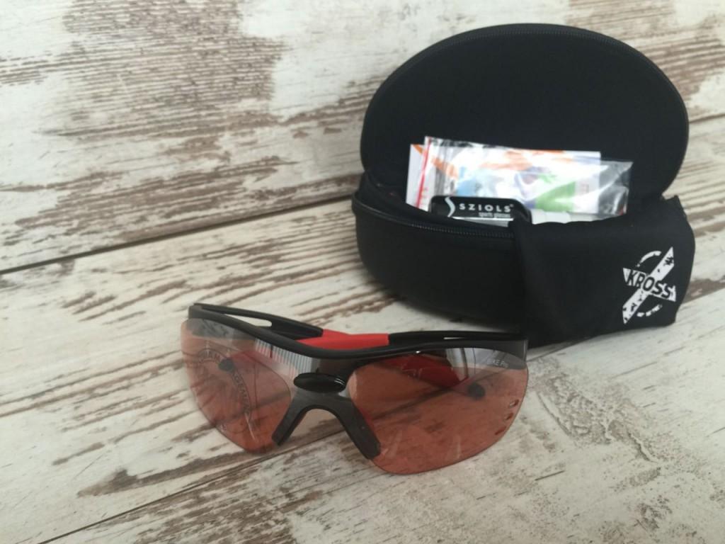 SZIOLS X-KROSS Brille mit Etui