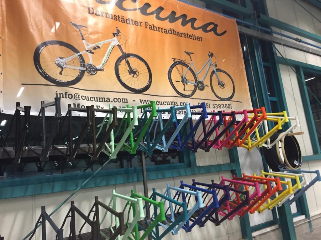 Cucuma Rahmenfarben