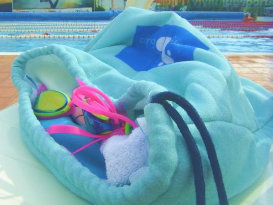 Sommer, Tasche, Strand, Pool