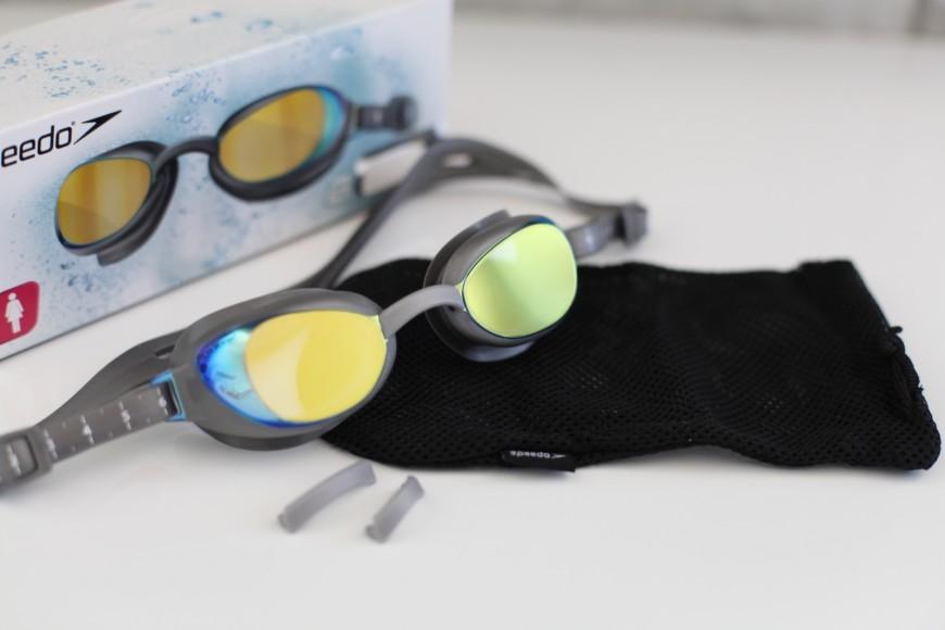 speedo Schwimmbrille Aquapure Mirror IQfit