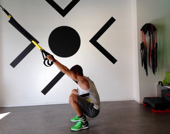 Deep Squat TRX Tiefeposition