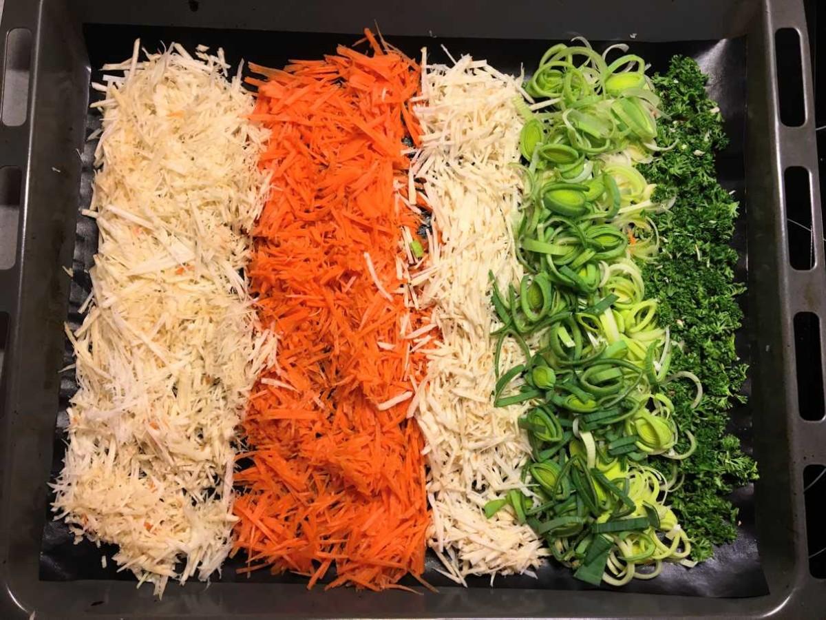 Gemüsebrühe Zutaten