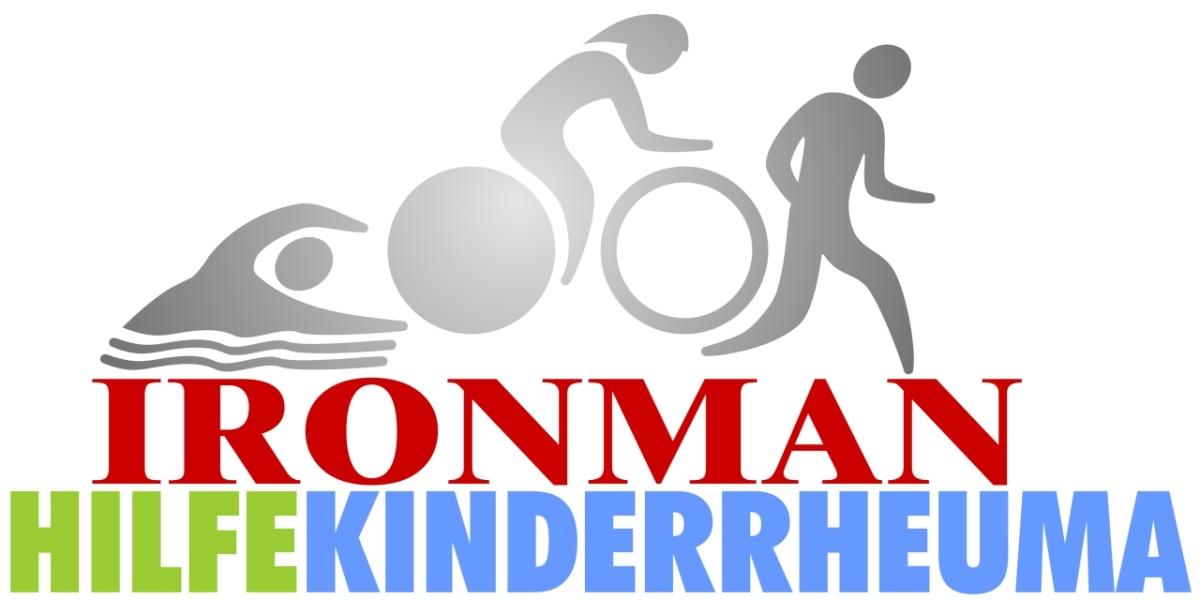 Logo Ironman Hilfe Kinderrheuma