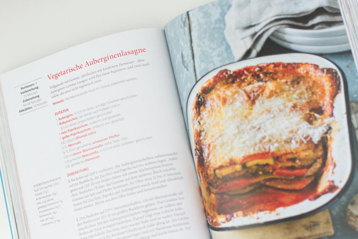 Tosca Reno - Eat-Clean-Kochbuch Rezept Vegetarische Auberginenlasagne