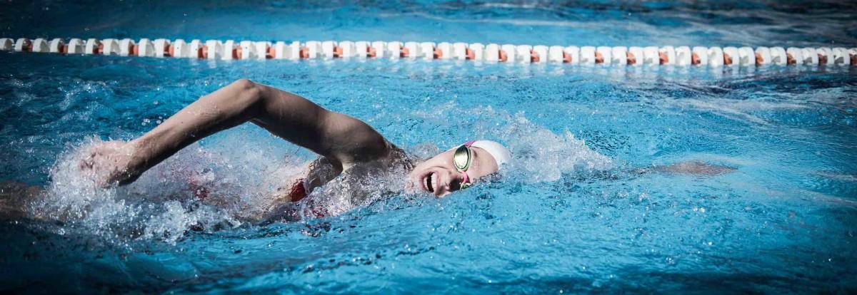 Atmung beim Kraulschwimmen