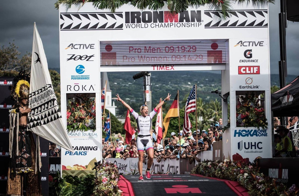 Anja Beranek 4. Platz Ironman Hawaii 2016