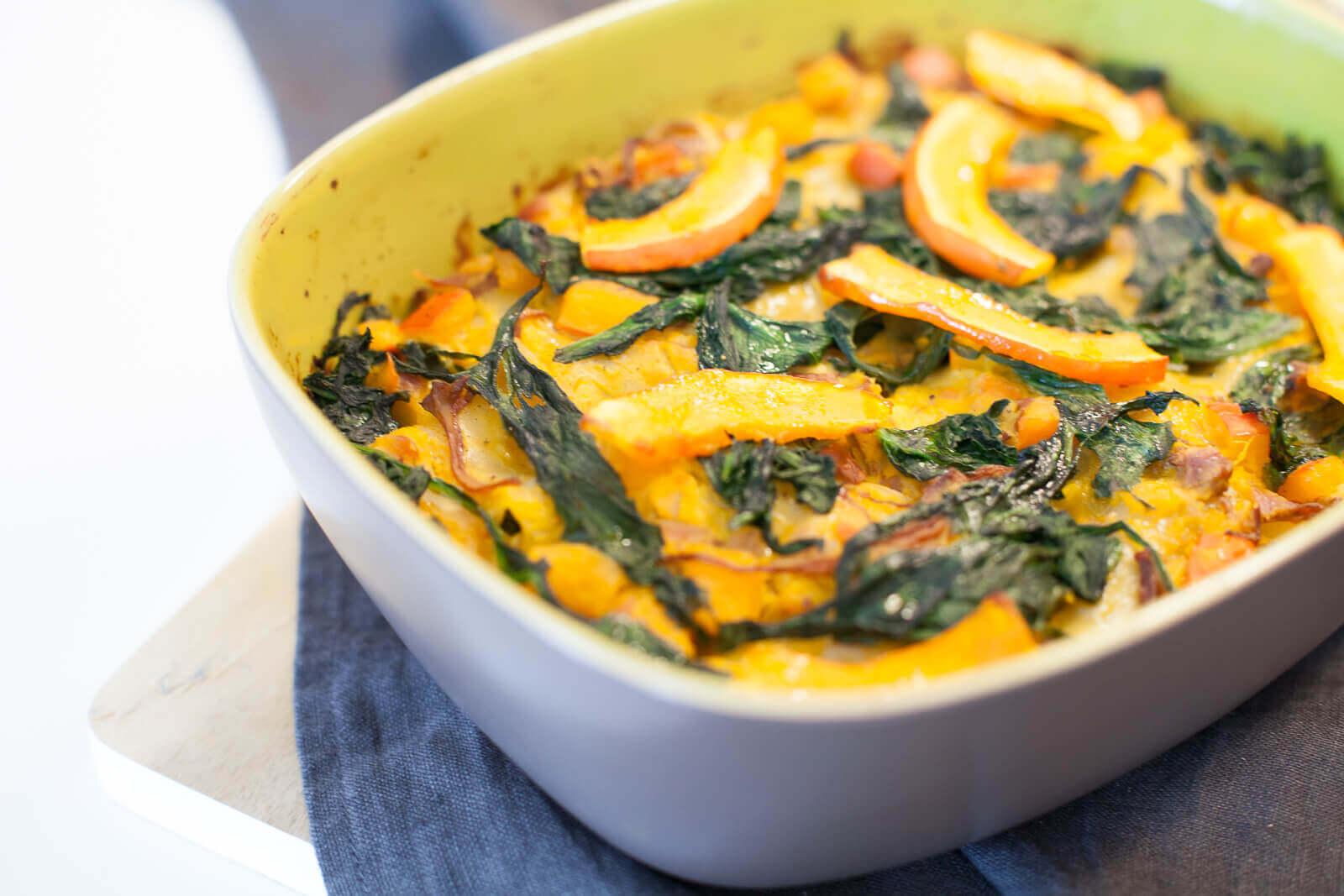 Die besondere Mahlzeit: Herbstliche Kürbis-Lasagne mit Pfiff