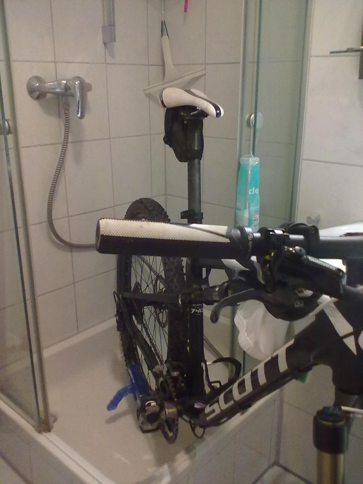 BikeInDusche