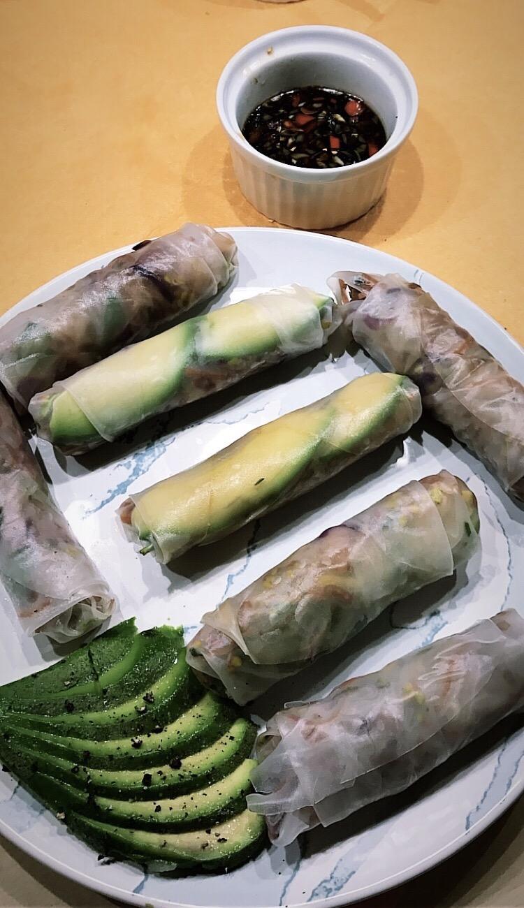 Vietnamesische ,,spring rolls