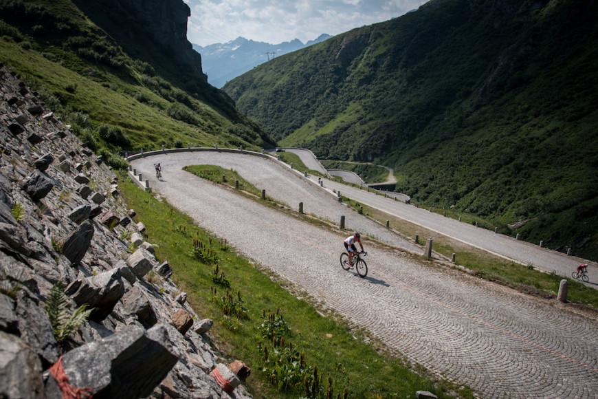 Die Radstrecke des Swissman (Tremola). Quelle:SWISSMAN