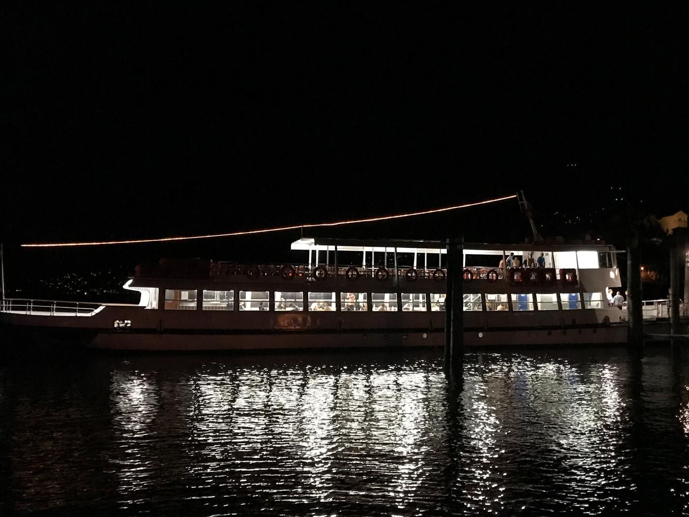Das Boot für die Schwimmer