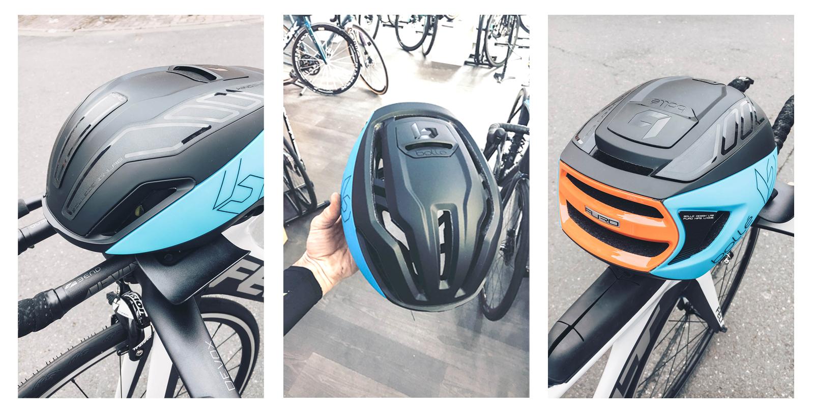 Egal, ob mit oder ohne Kunststoffteile – dieser Helm ist trotzallem aerodynamisch!