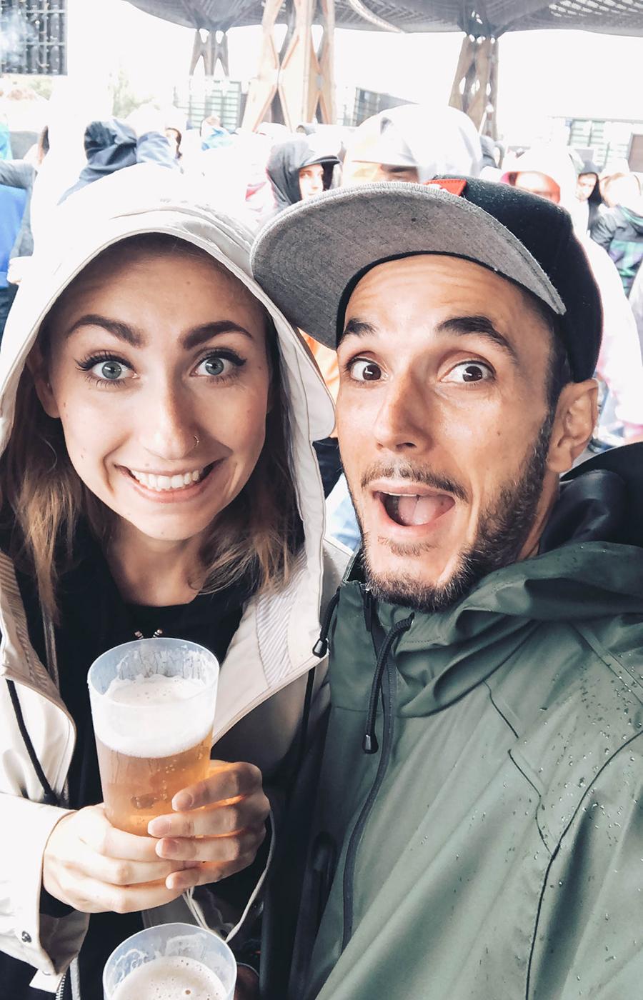 Daniel und seine Freundin Anastasia