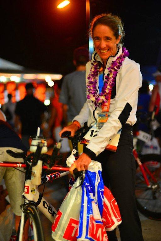 Eva Helms beim der IRONMAN Weltmeisterschaft auf Hawaii
