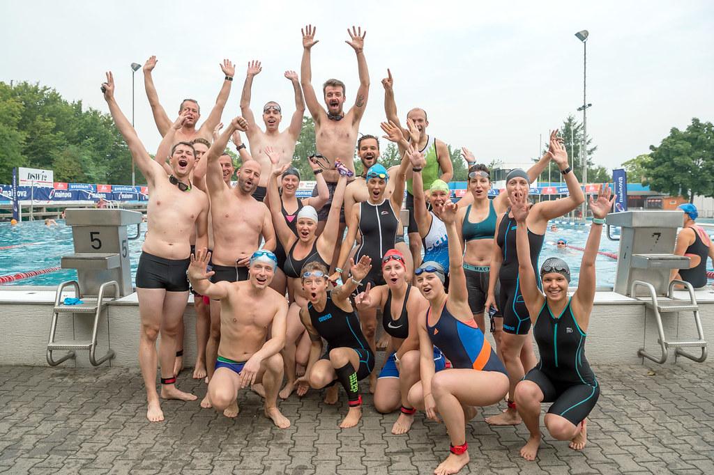 Die Rookies aus dem ersten Probelauf 2017. Bildquelle: 10 Freunde Team Triathlon / Henning Müller