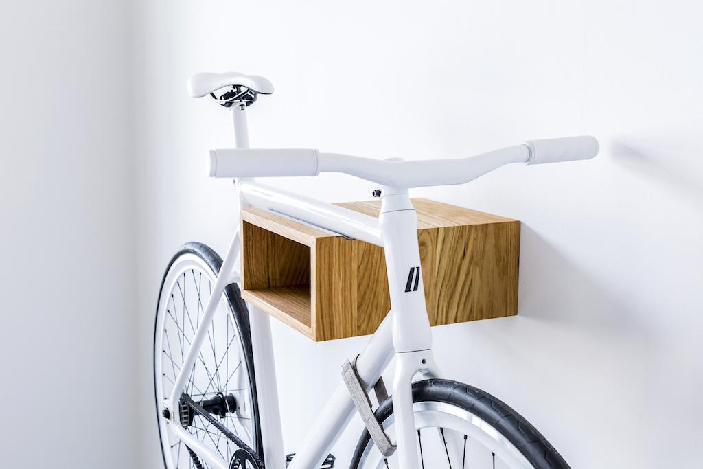 nachhaltige Fahrradhalterung aus Berlin: Firma Mikili