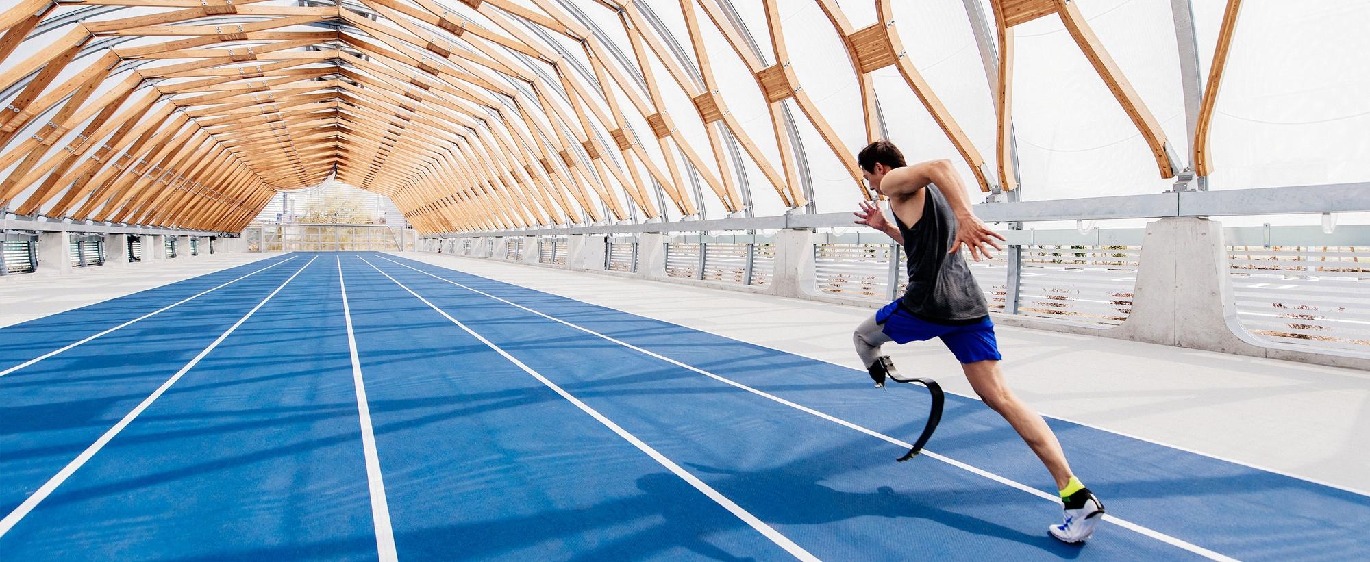 Nike Grind auf einer Laufbahn in China - Bildquelle: nike.com