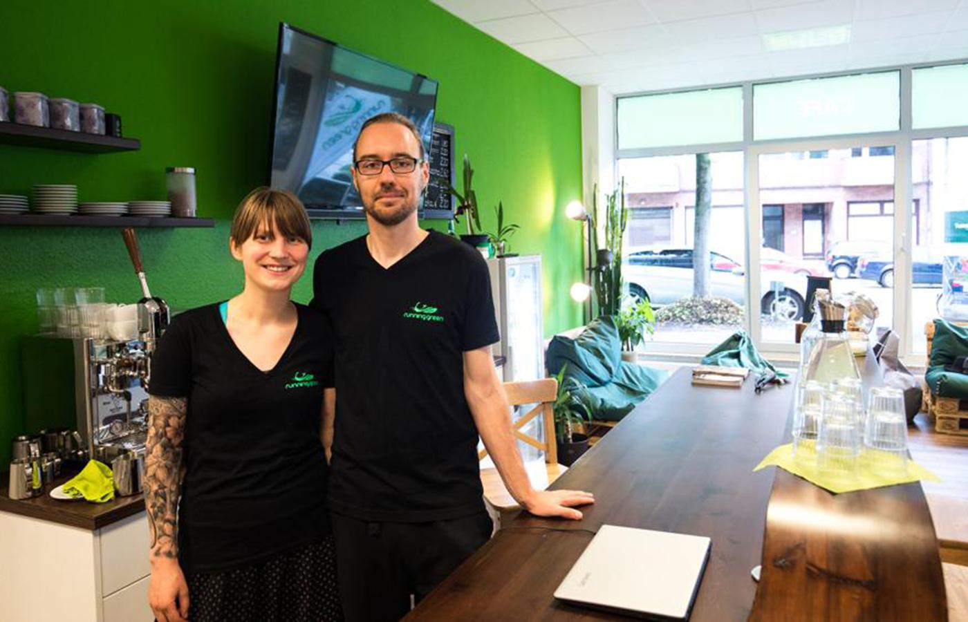 Das Team aus Hamburg / Bild: running green