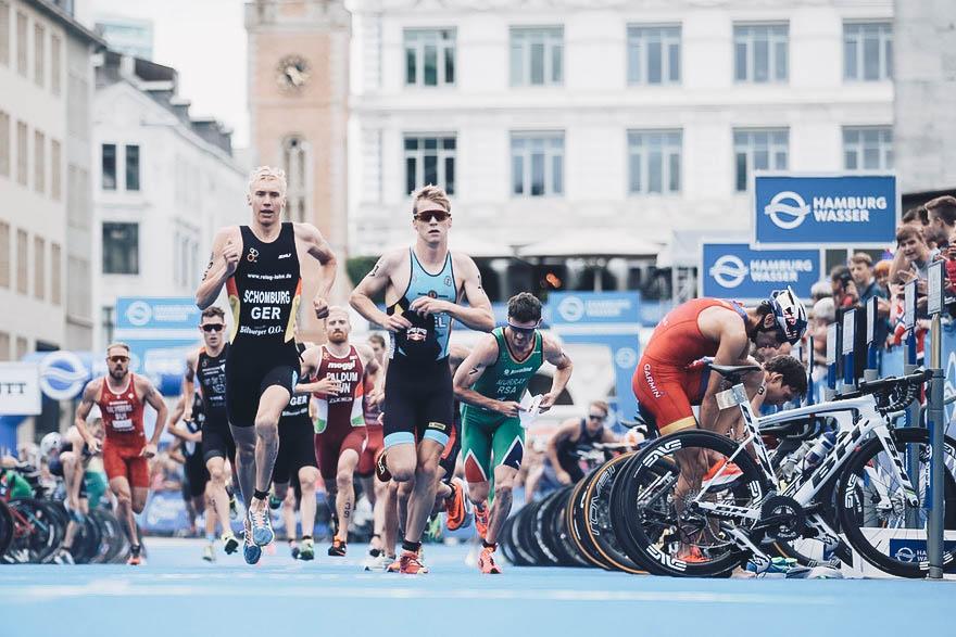 Pressematerial Waser World Triathlon Hamburg