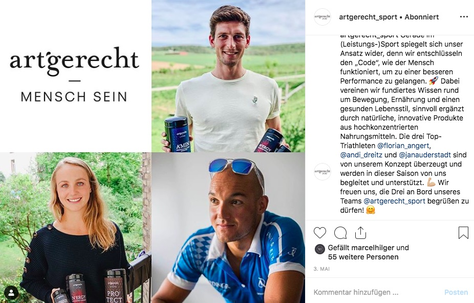 Athletes of art'gerecht