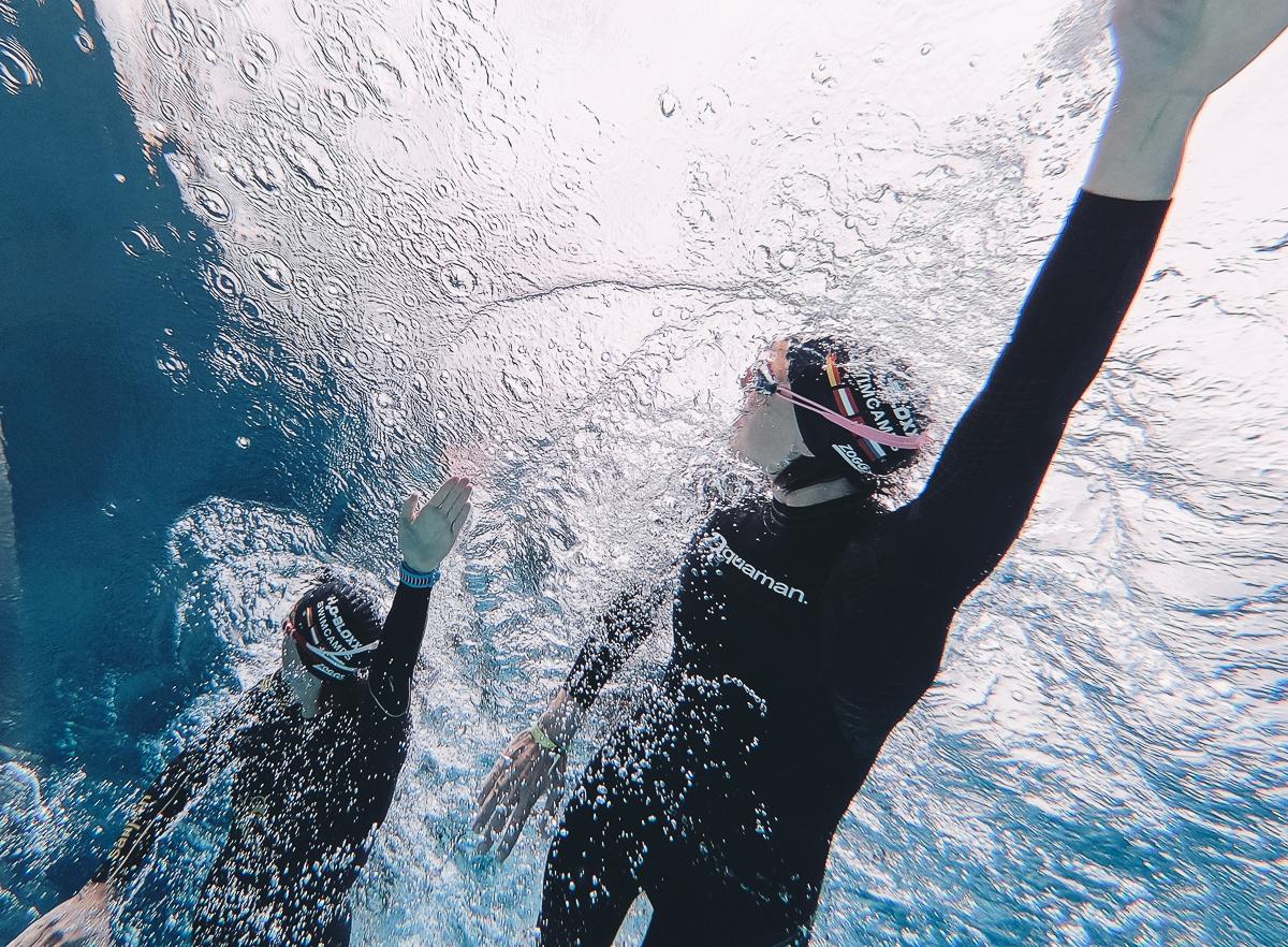 Schwimmtraining bei H2OBLOXX