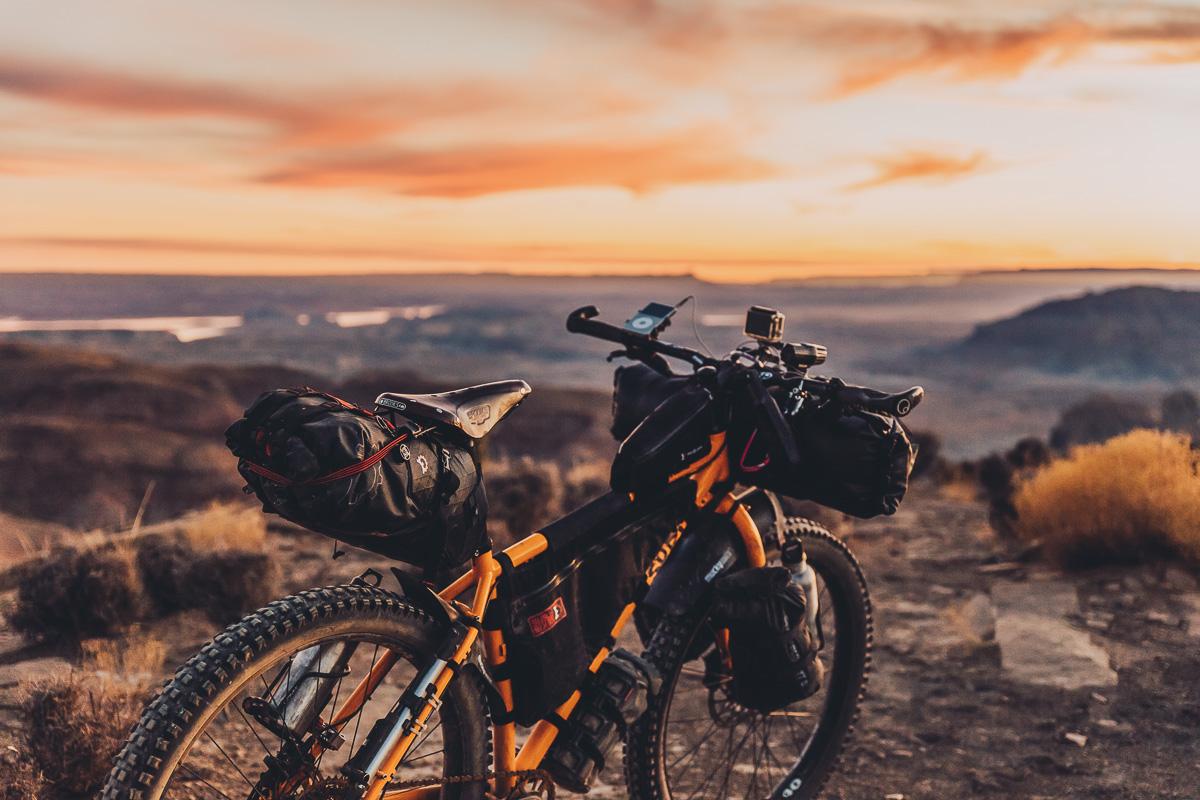 grundsätzlich ist jedes Rad für das Bikepacking geeignet