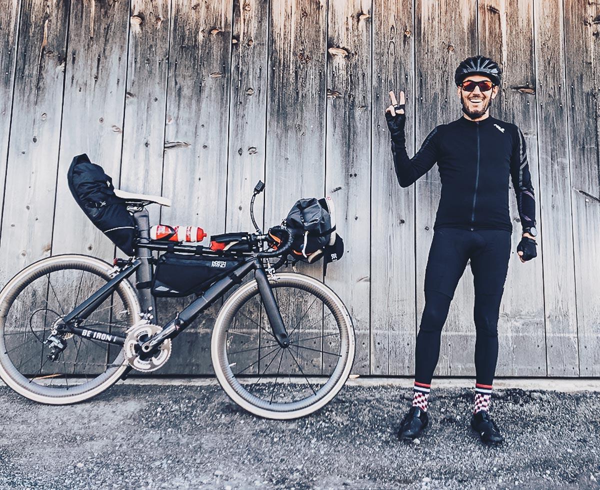 Mit dem Rad zum Wettkampf: Daniel Welsch hat das Bikepacking ausprobiert