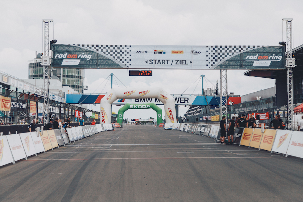Der Start bei Rad am Ring 2019