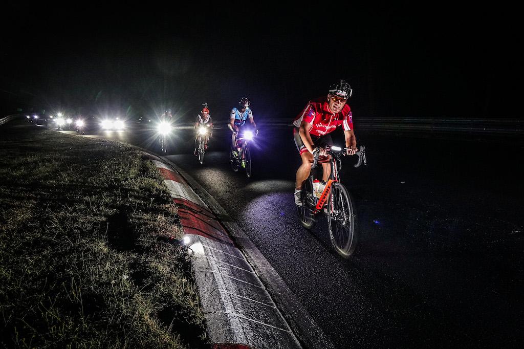 Eine besondere Herausforderung: die Fahrt in der Nacht